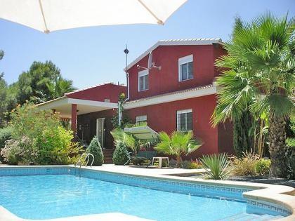 Executive style detached villa in El Reloj, Murcia