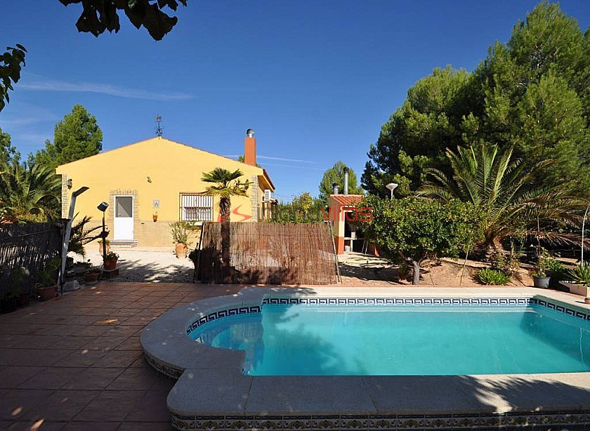 Pinoso Villa with pool 2km to Town  in Inland Villas Spain