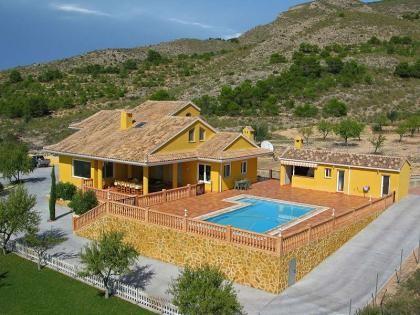 Amazing Villa in Sax, Alicante