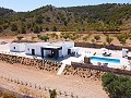 Modern new villa near Pinoso 3 bedroom villa €194995 or with pool and garage €224.995 in Inland Villas Spain