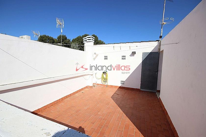 Village House with a roof terrace in Las Virtudes, Villena in Inland Villas Spain