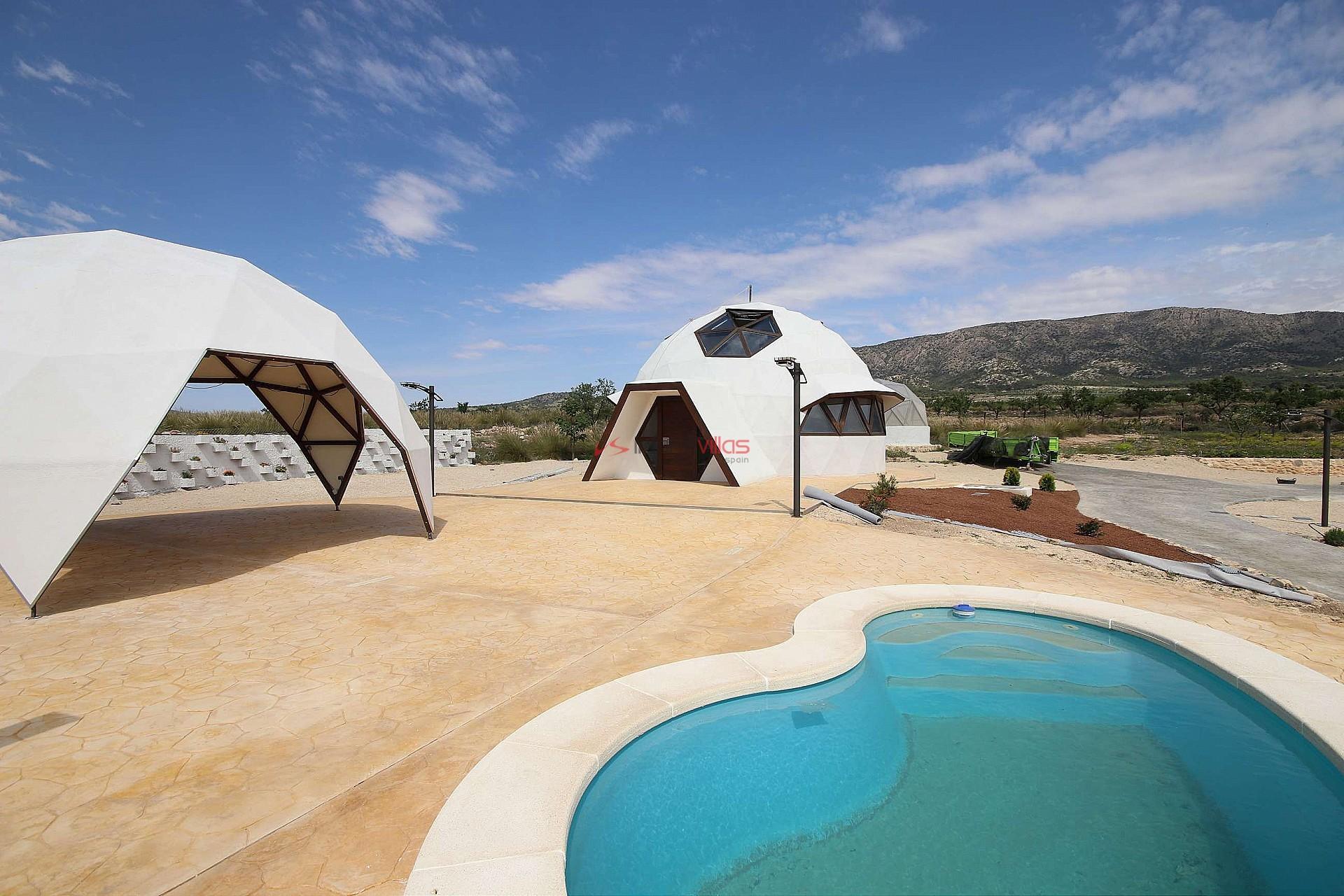 Vrijstaande villa in Pinoso - Nieuwbouw