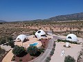 New Eco Dome modern detached villa with a pool, terrace and garage in Inland Villas Spain