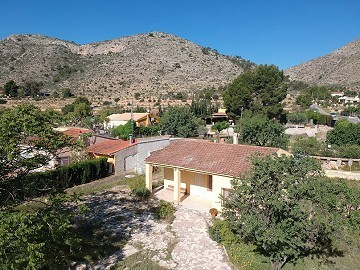 Finca Romeral with great views and space for a large pool.