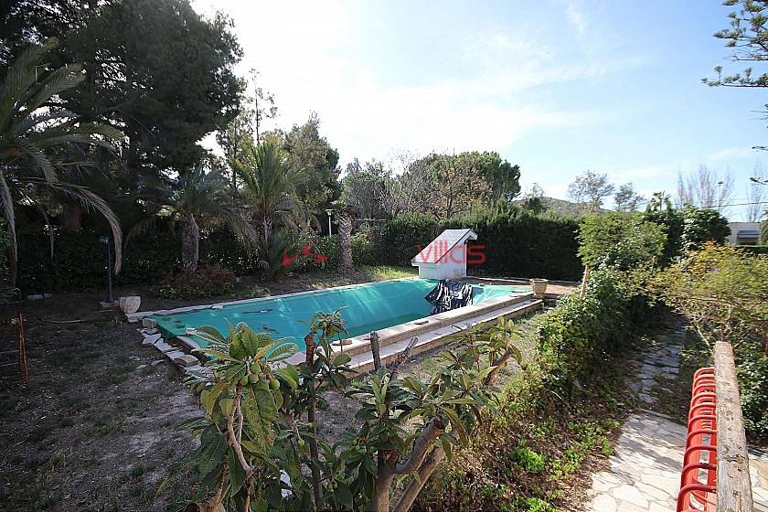 Detached Villa with a pool and garage in Loma Bada, Alicante in Inland Villas Spain