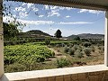 Country House with beautiful courtyard and great views in Inland Villas Spain