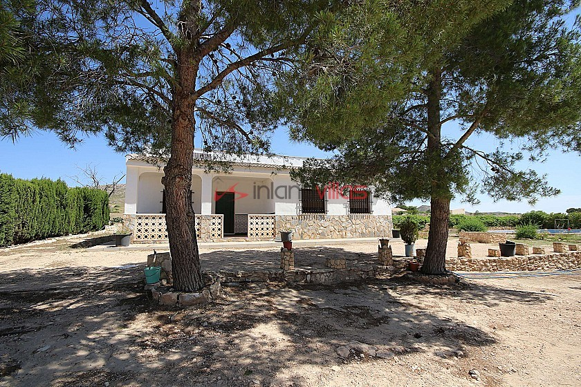 Detached Country House with a pool close to Yecla in Inland Villas Spain