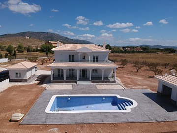 New build villa 195m2 with pool and plot