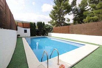 Town House with a swimming pool and views in Casas del Señor, Alicante
