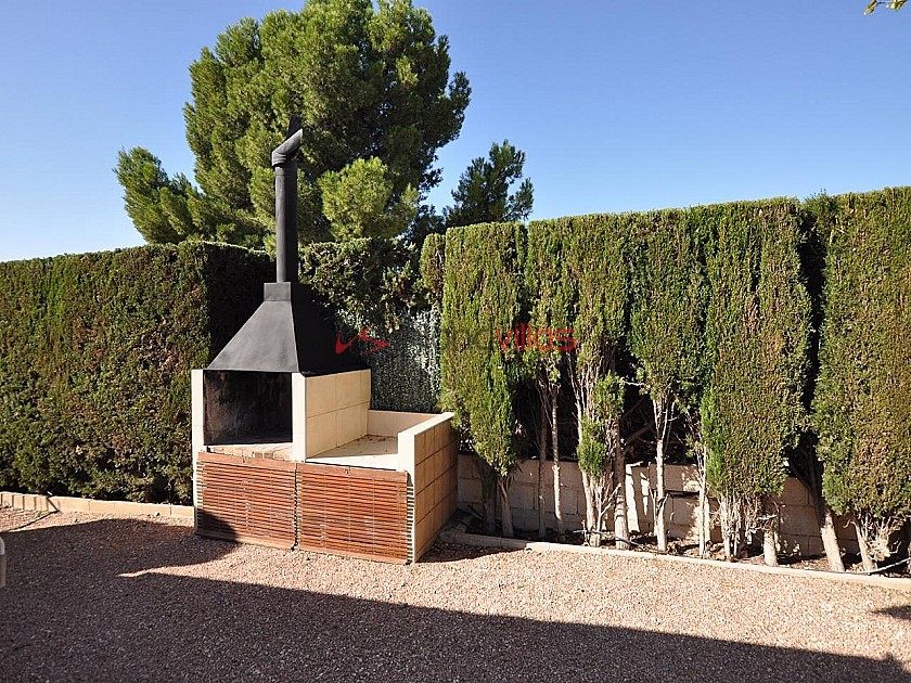 Large 4 Bedroom quality rustic home with pool and tennis court in Sax in Inland Villas Spain