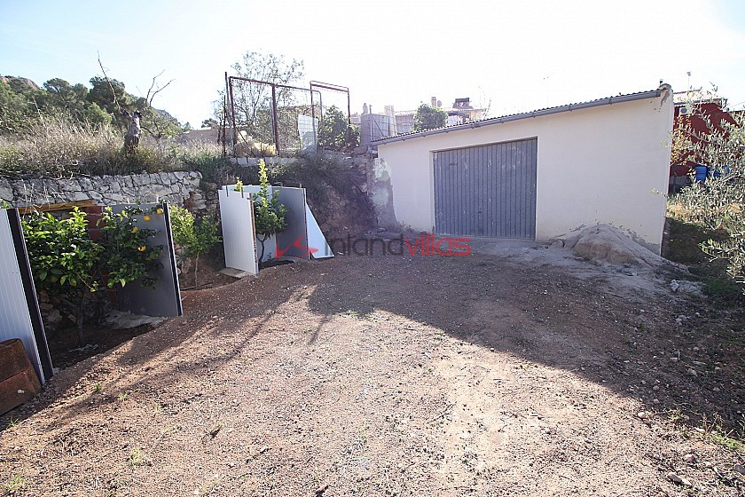 Large country house with garage & garden amazing views in Inland Villas Spain