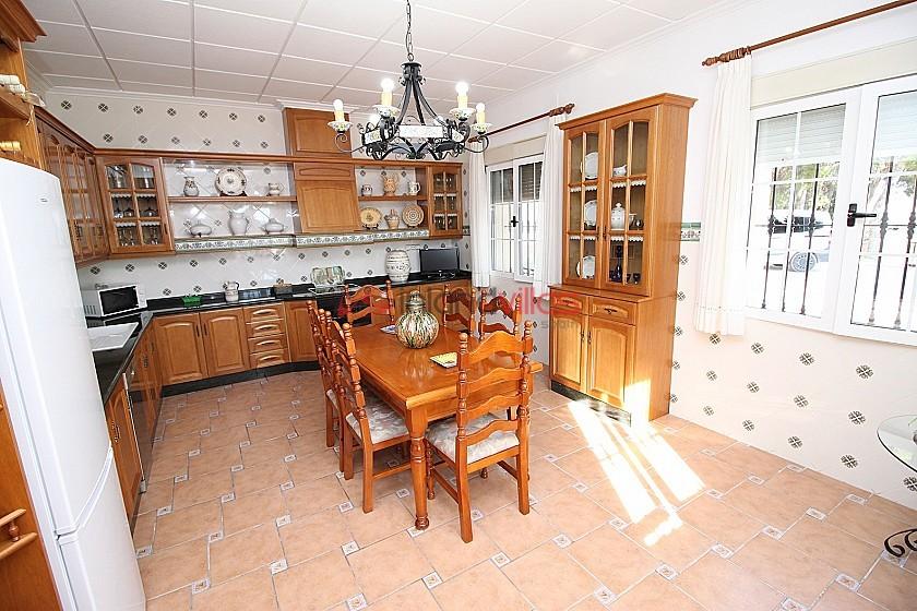 Large luxury villa overlooking the town  in Inland Villas Spain