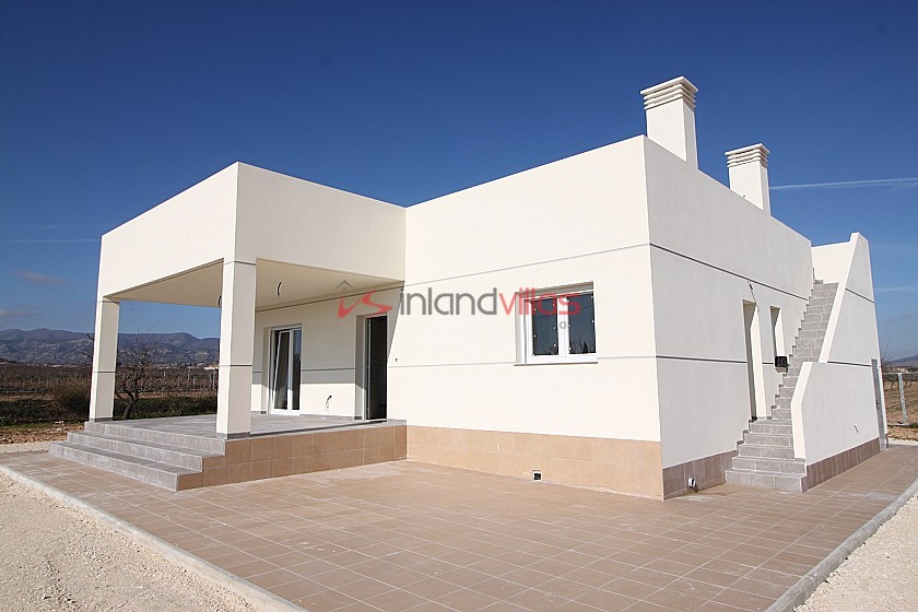 Brand new villa south facing room for a pool in Inland Villas Spain