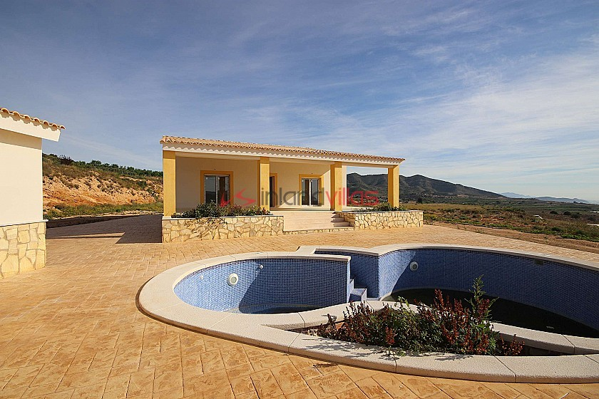 Brand New Detached Villa with a guest house and pool in La Romana in Inland Villas Spain