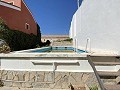 Large Townhouse in with private pool in Caudete in Inland Villas Spain