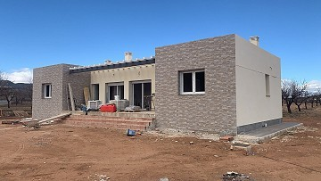 New build with pool and plot walk to Pinoso town