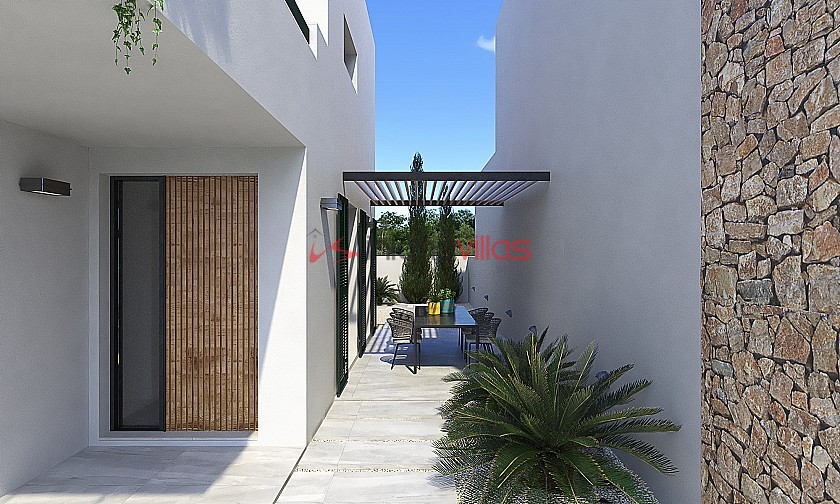 Olive Collection Villa 3 Bed 4 Bath with Pool in Inland Villas Spain