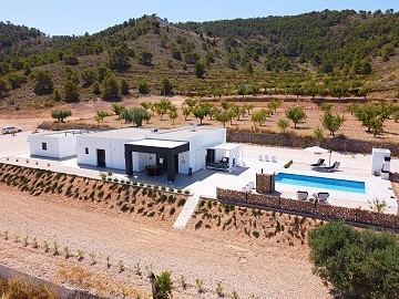 Modern new villa 3 bedroom villa with pool and garage