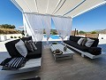 Modern new villa 3 bedroom villa with pool and garage  in Inland Villas Spain