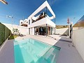 Incredible and modern Elity Villas near the beach and golf course with swimming pool in Inland Villas Spain