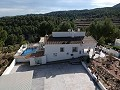 Lovely Detached Villa with a pool and views 15min from Alicante in Inland Villas Spain