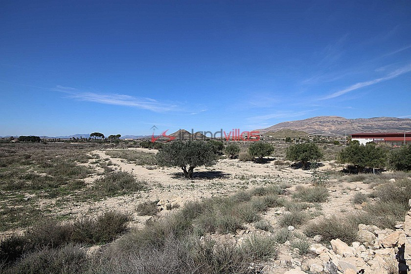 Two building plots in Agost with water and electricity in Inland Villas Spain