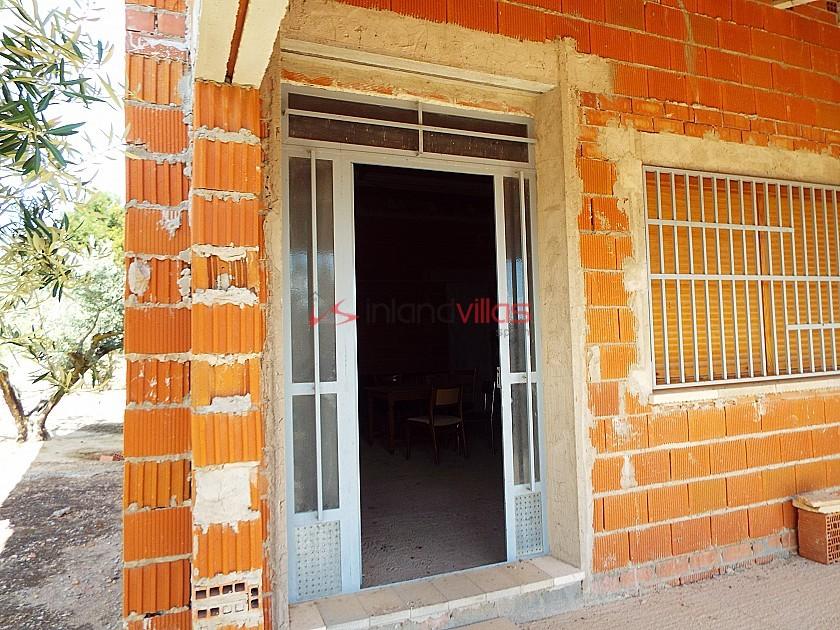 House in Caudete to complete build, Albacete in Inland Villas Spain