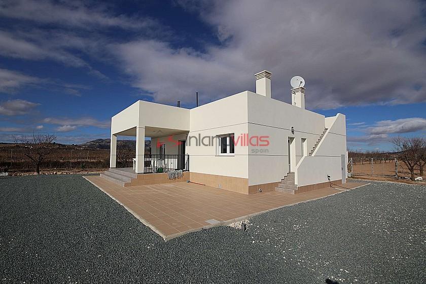 New Builds in Pinoso in Inland Villas Spain