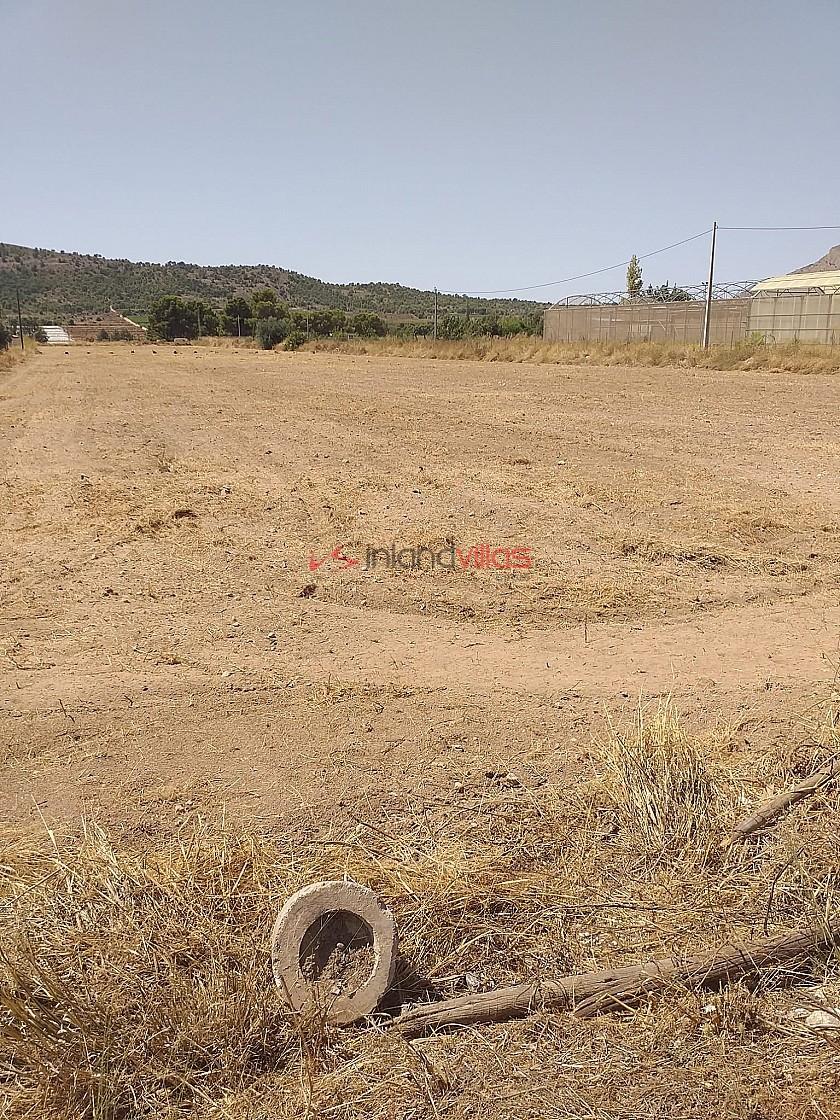 Building Plot in Aspe in Inland Villas Spain